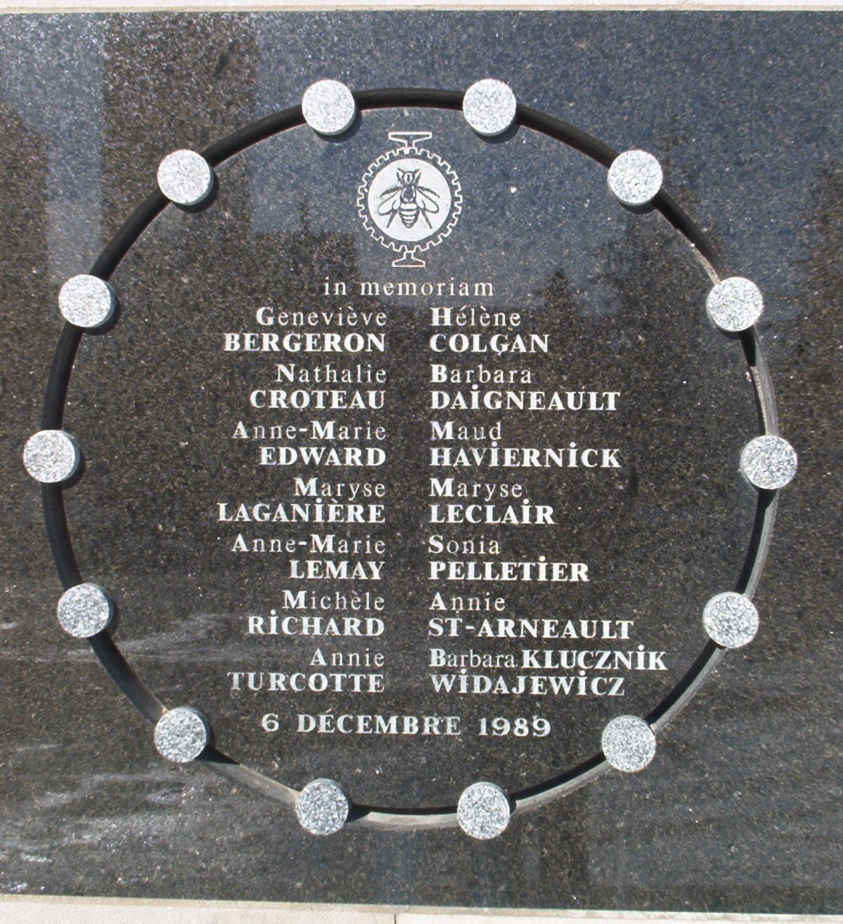 Memorial of the Montreal Massacre