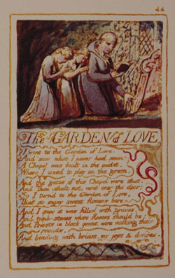 Original plate and artwork by William Blake