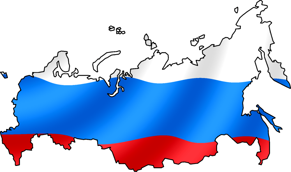 Image result for russia flag map