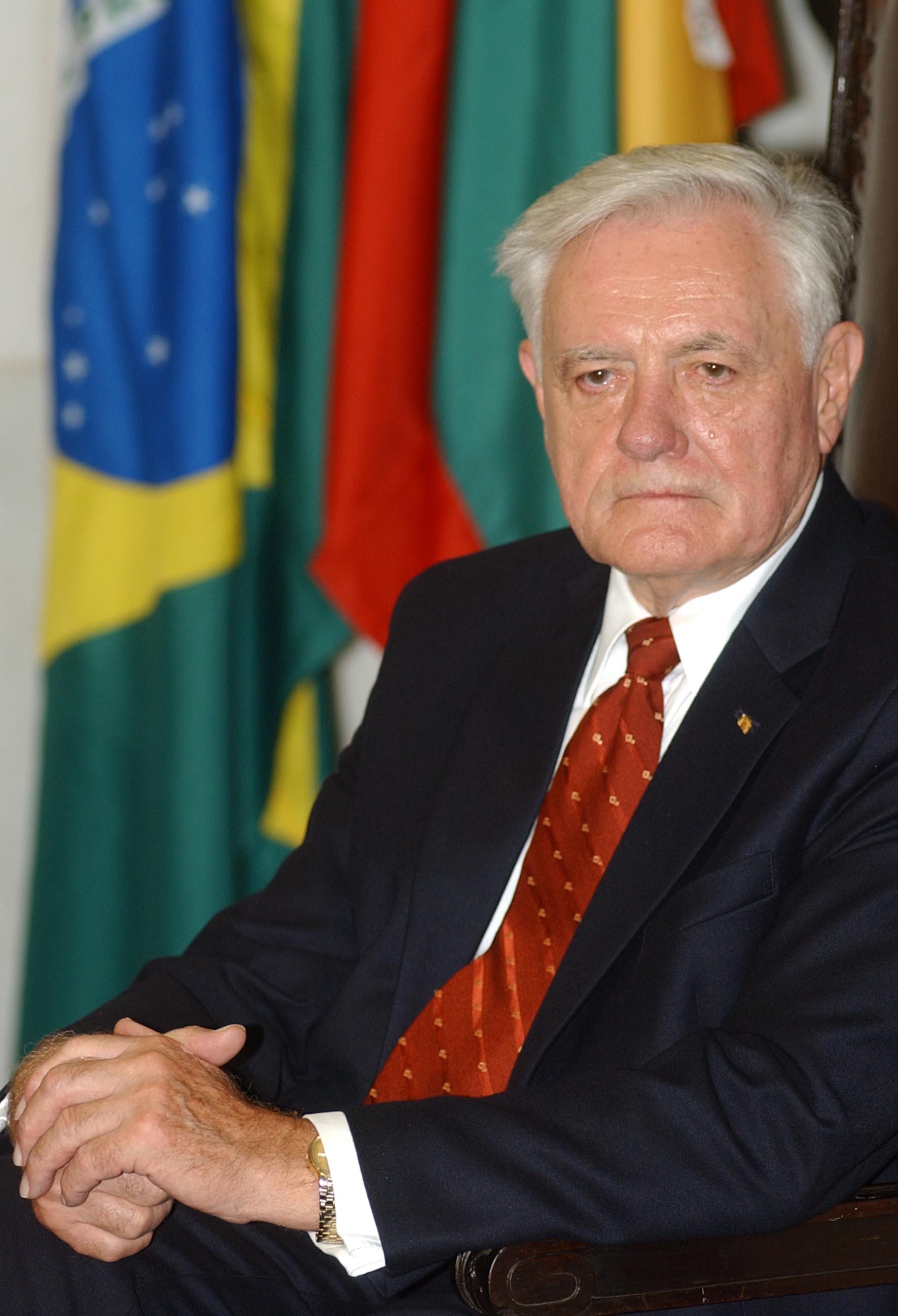 Valdas Adamkus, author Fabio Pozzebom/ABr