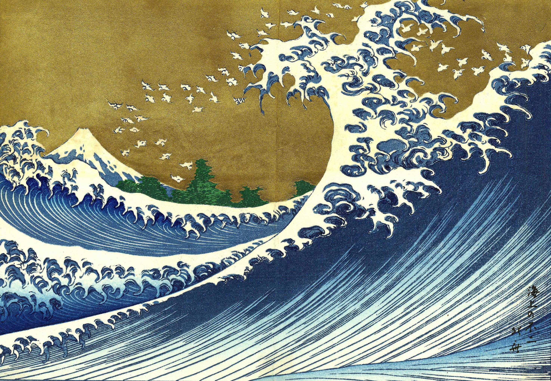 Great Wave Kanagawa Date