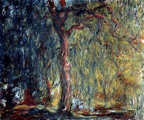 Claude Monet, Weeping Willow (2)