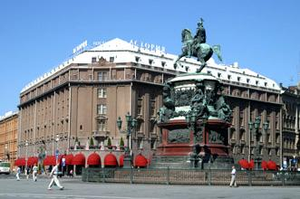 dove dormire San Pietroburgo Hotel Astoria