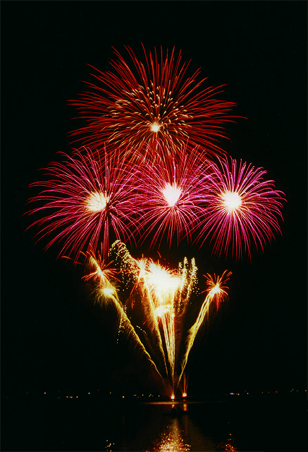 Feliz Ano Novo 2008 Fogos de Artificio Fireworks Happy New Year