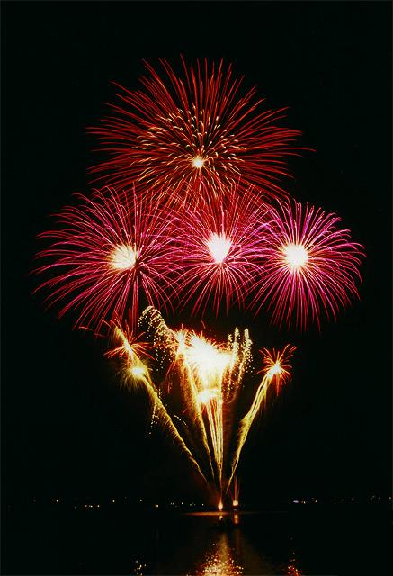 Feliz Ano Novo 2008 Fogos de Artificio Fireworks Happy New Year