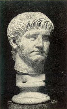 From the statue in Rome. The Emperor Nero.