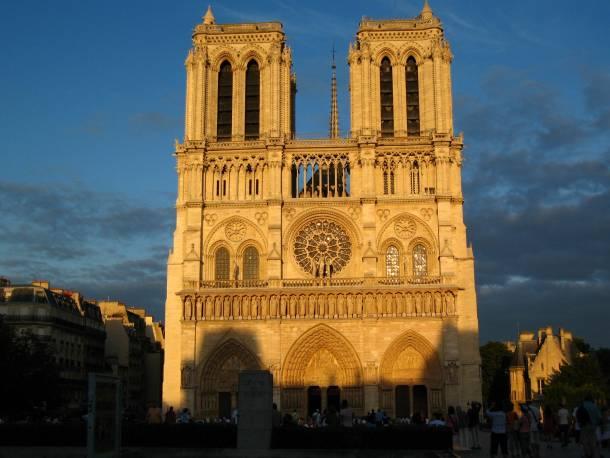 Image result for Notre Dame in Paris v Burgos Cathedral