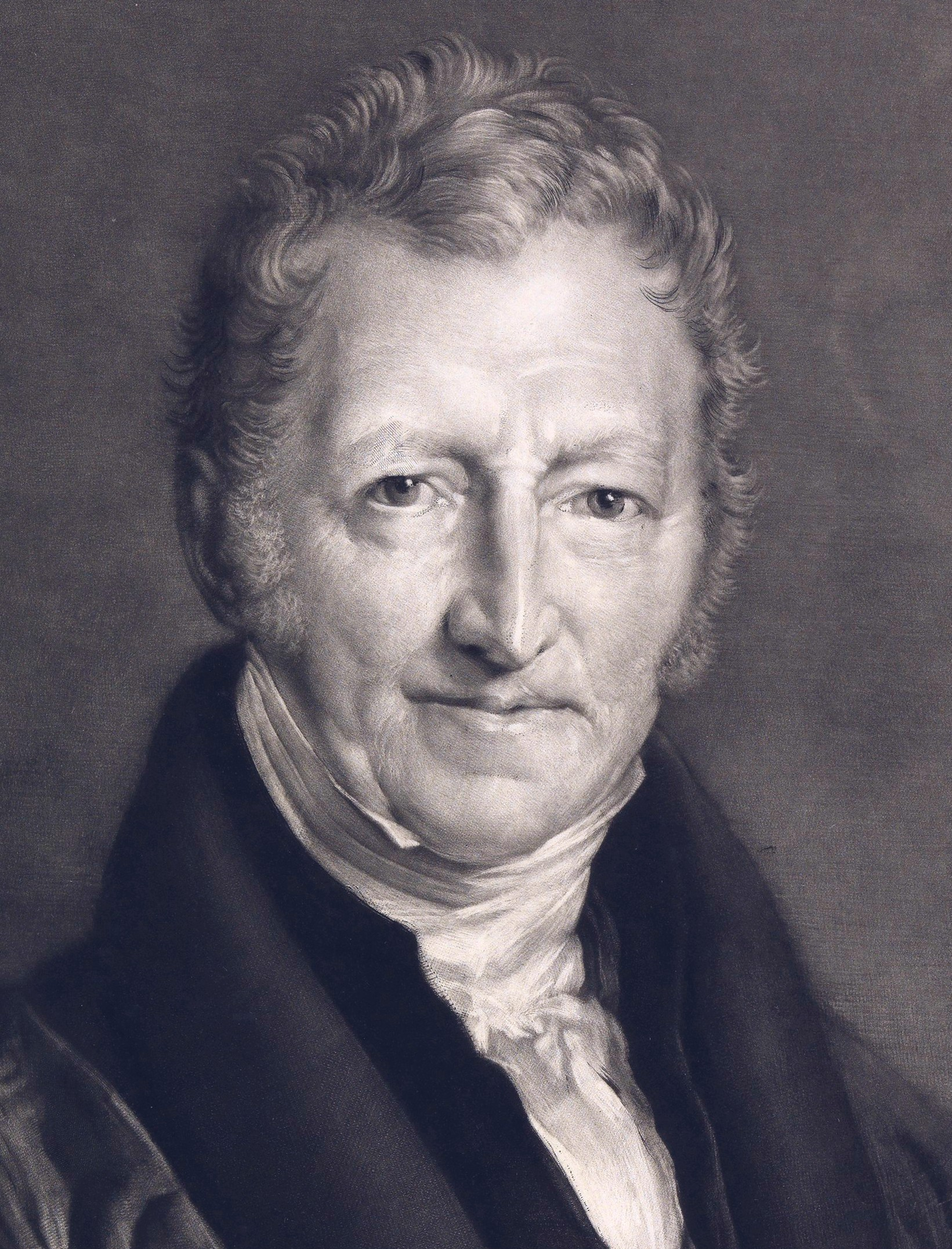 Malthus cautioned law makers on the effects of...