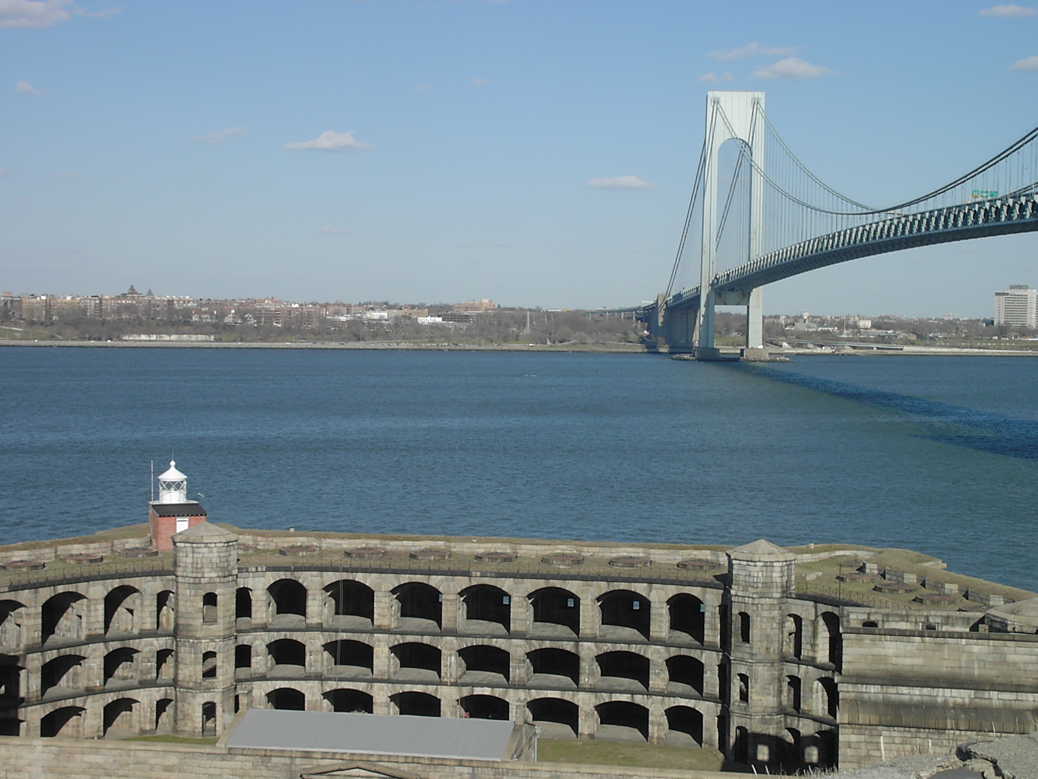 Fort Wadsworth & Verrazano-Narrows Bridge