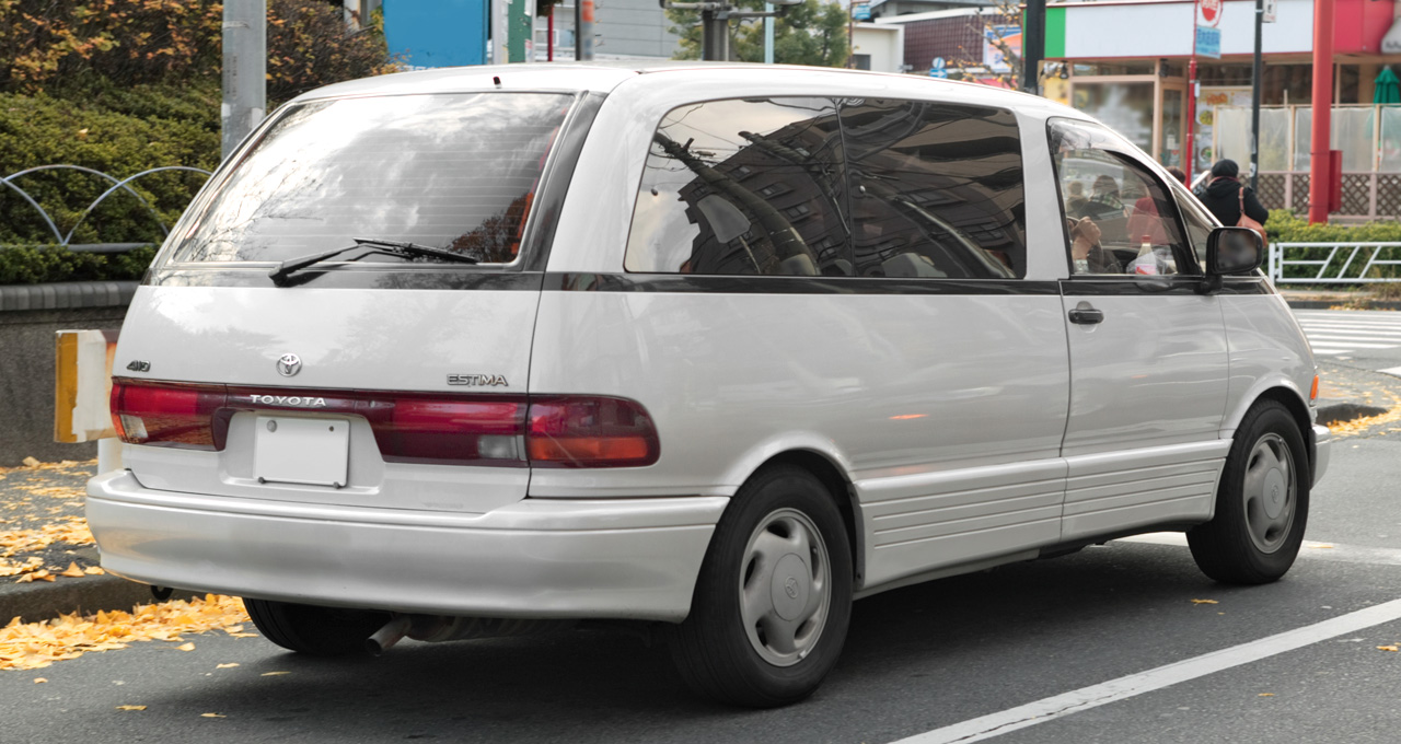 Previadiaries Toyota Previa Fuel Filter Location Was Actually Originally Half American Calty Designer David Doyle Is Credited As One Of The Original Designers But It A Bold That Greenlit