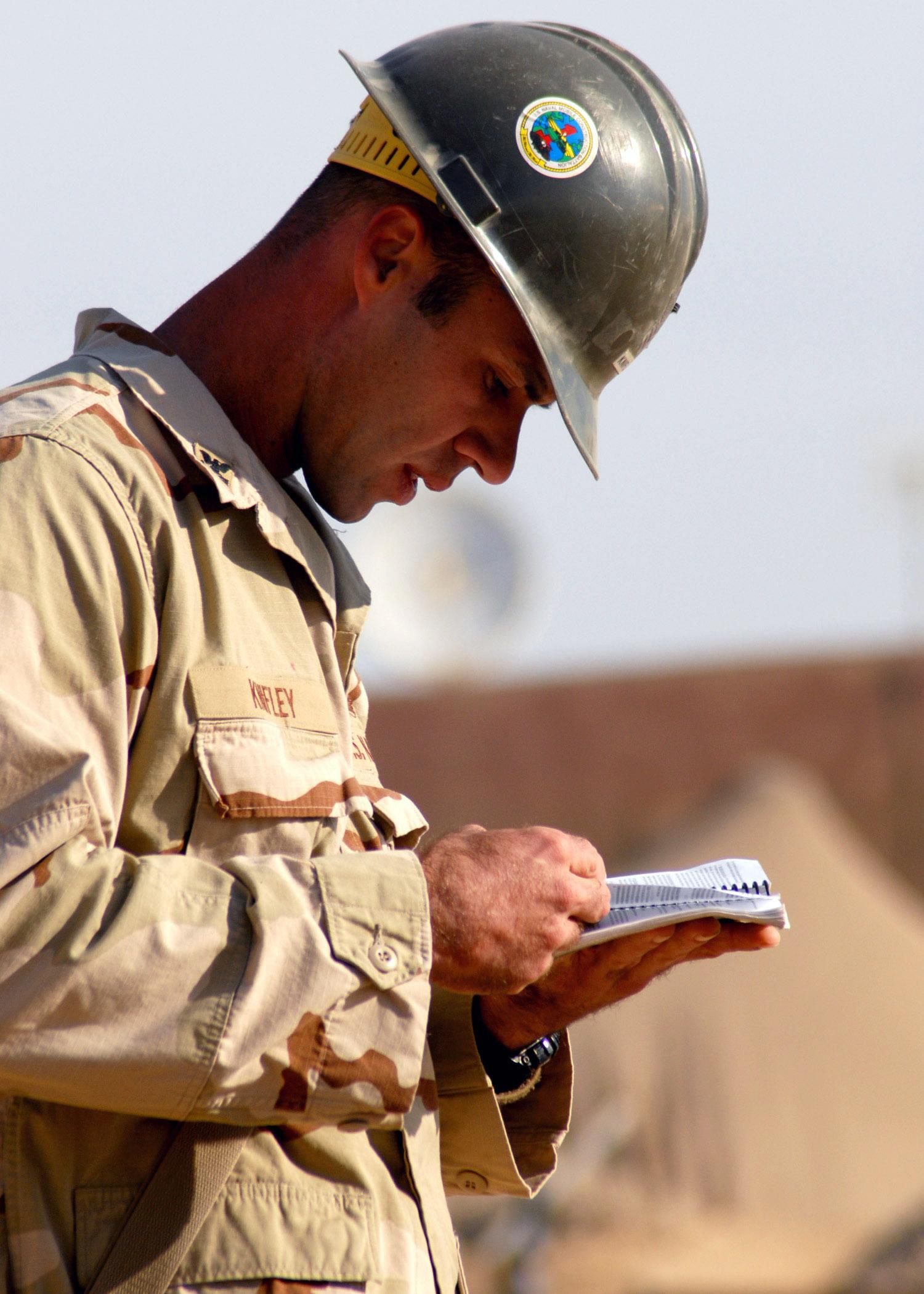 Navy Equipment Operator Certificate
