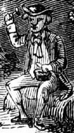 Leprechaun engraving 1858