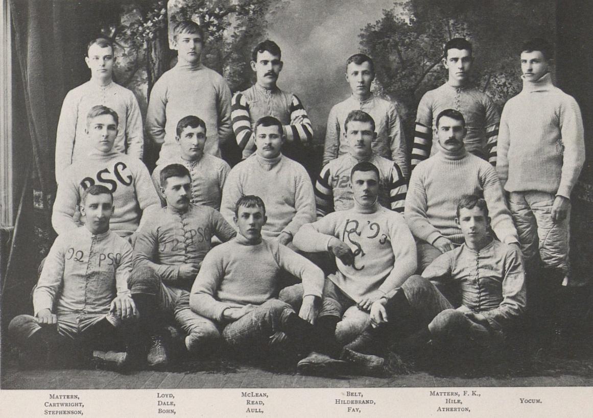 1890 Penn State Nittany Lions Football Team Wikipedia
