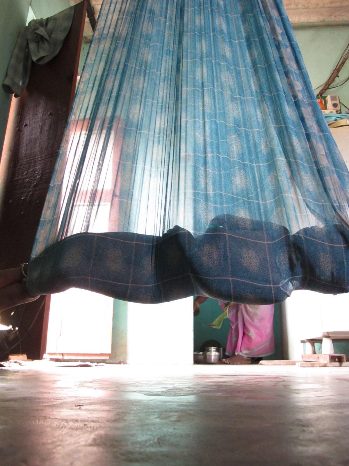 File Child In Indian Sari Hammock By Etan Doronne