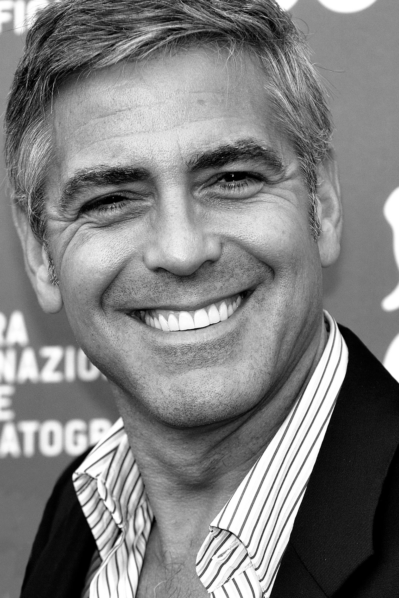 English: Actor George Clooney - 66th Venice In...