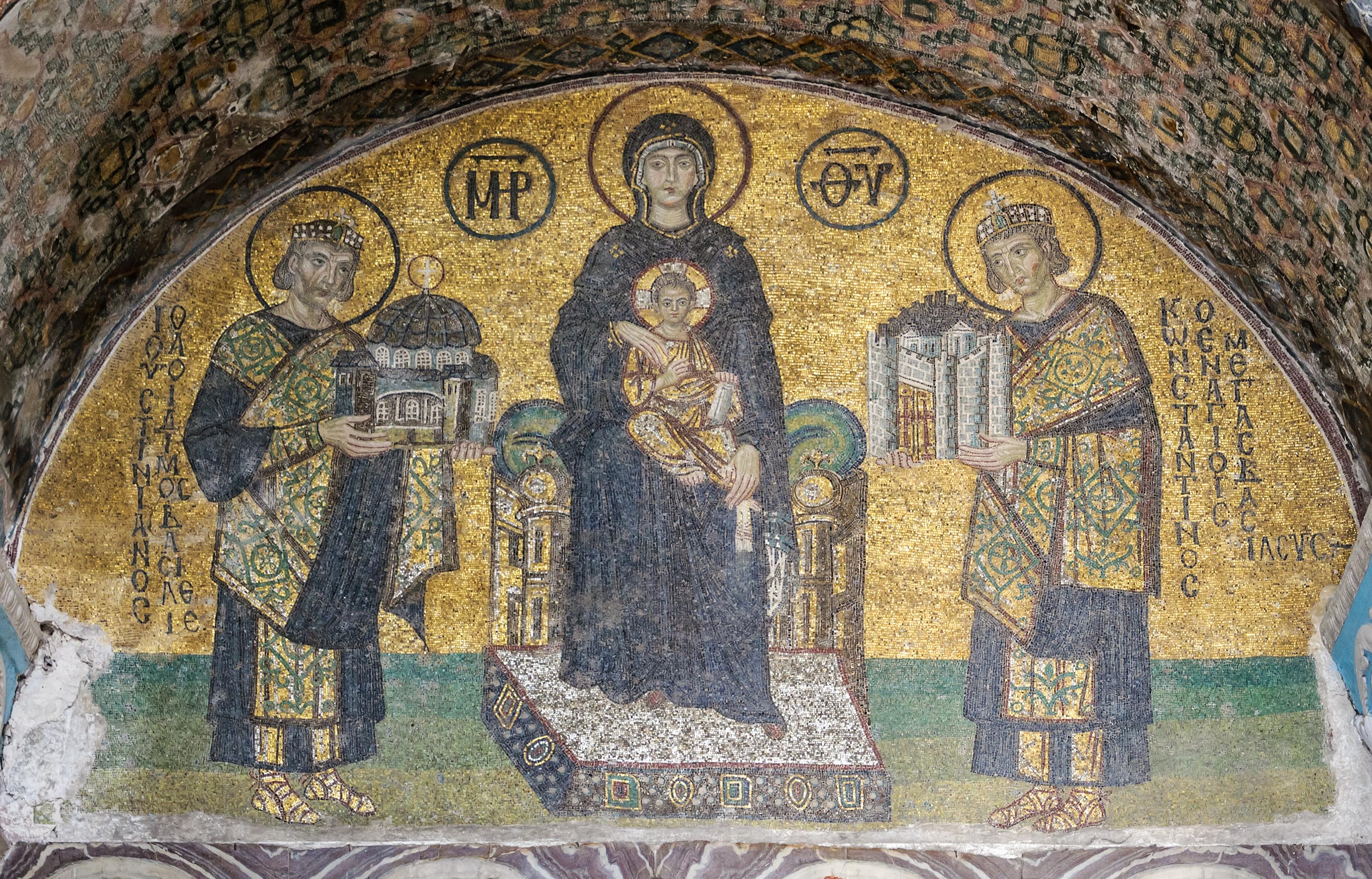 Hagia Sophia Examples Of Christian Art In Hagia Sophia