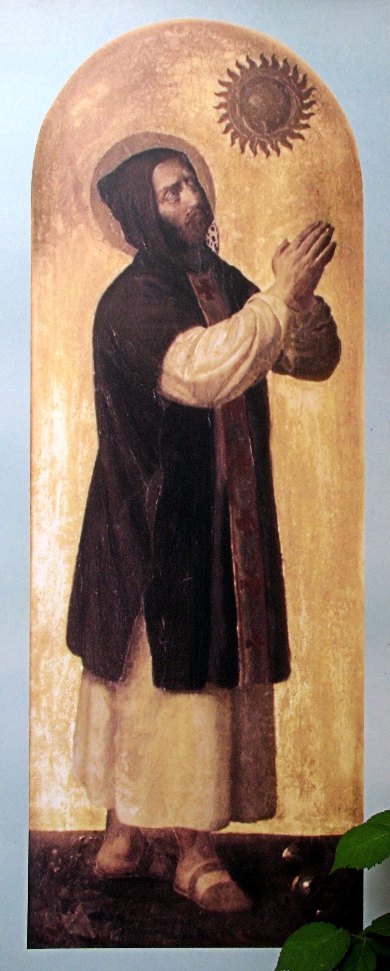 Saint Benedict.
