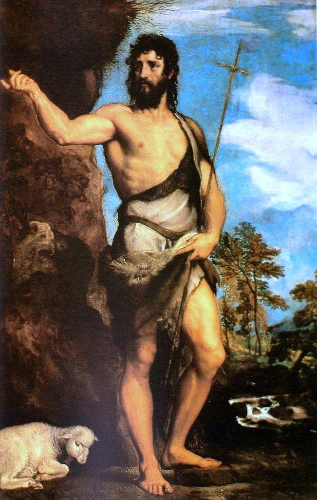 St John the Baptist, Titian, 1542