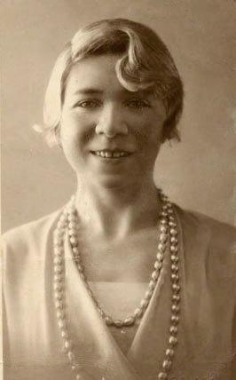 Alfonsina Storni. (Fotografía extraída del sit...