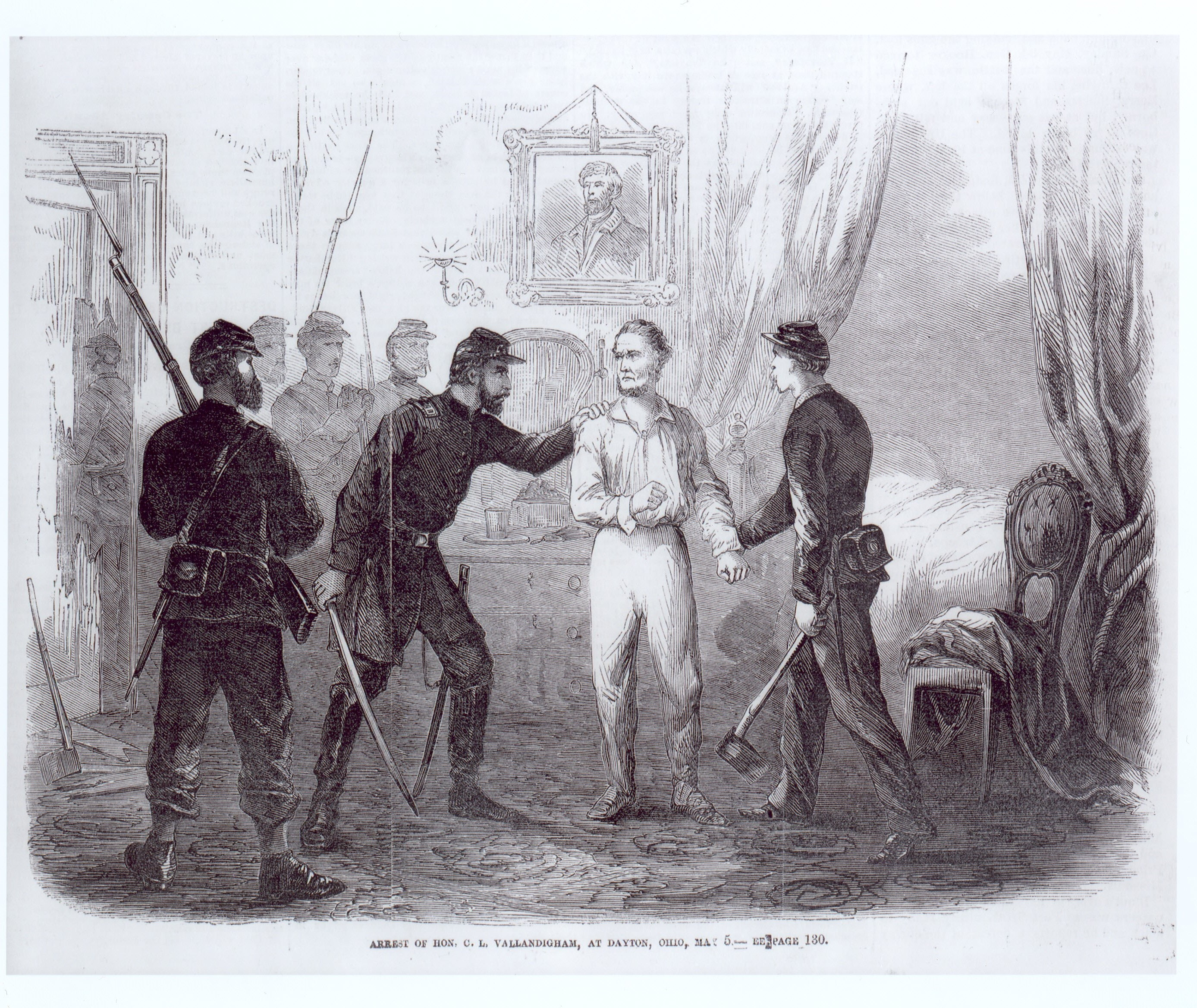 Vallandigham's arrest.