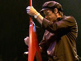 Izzy Stradlin from Guns N' Roses
