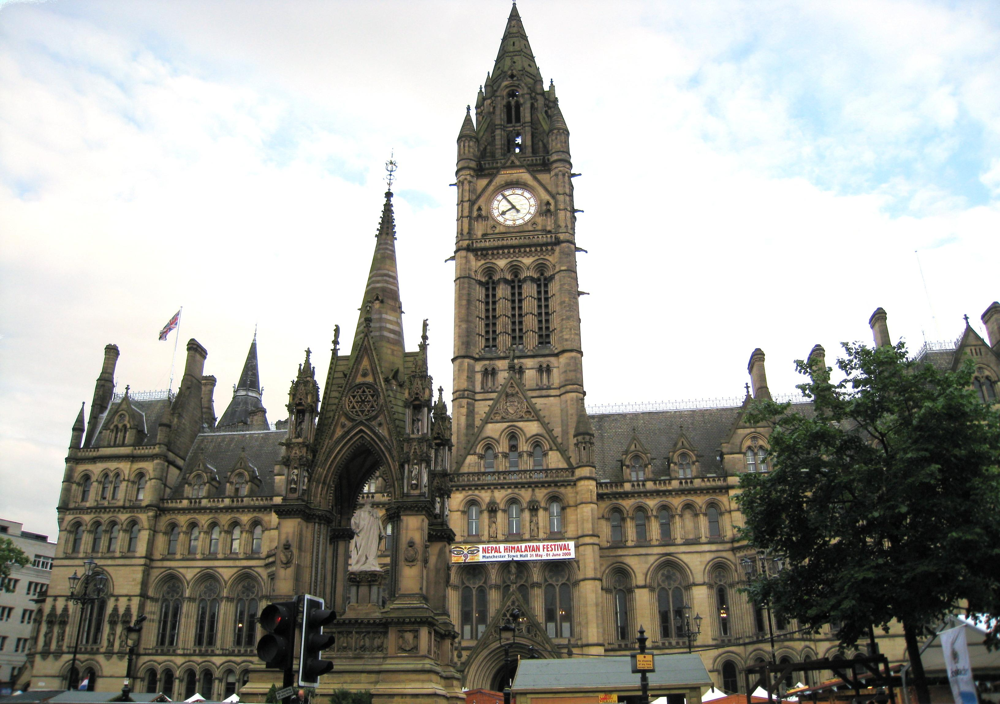 Manchester Town Hall A Neo Gothic Architectural