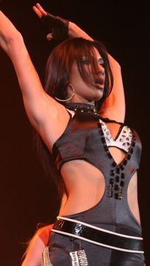 Nicole Scherzinger at the Tacoma Dome