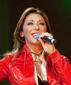 English: Italian singer Sabrina Salerno (Sabri...
