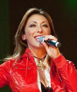 English: Italian singer Sabrina Salerno (Sabri...