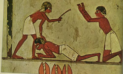 Punishment in Ancient Egypt.