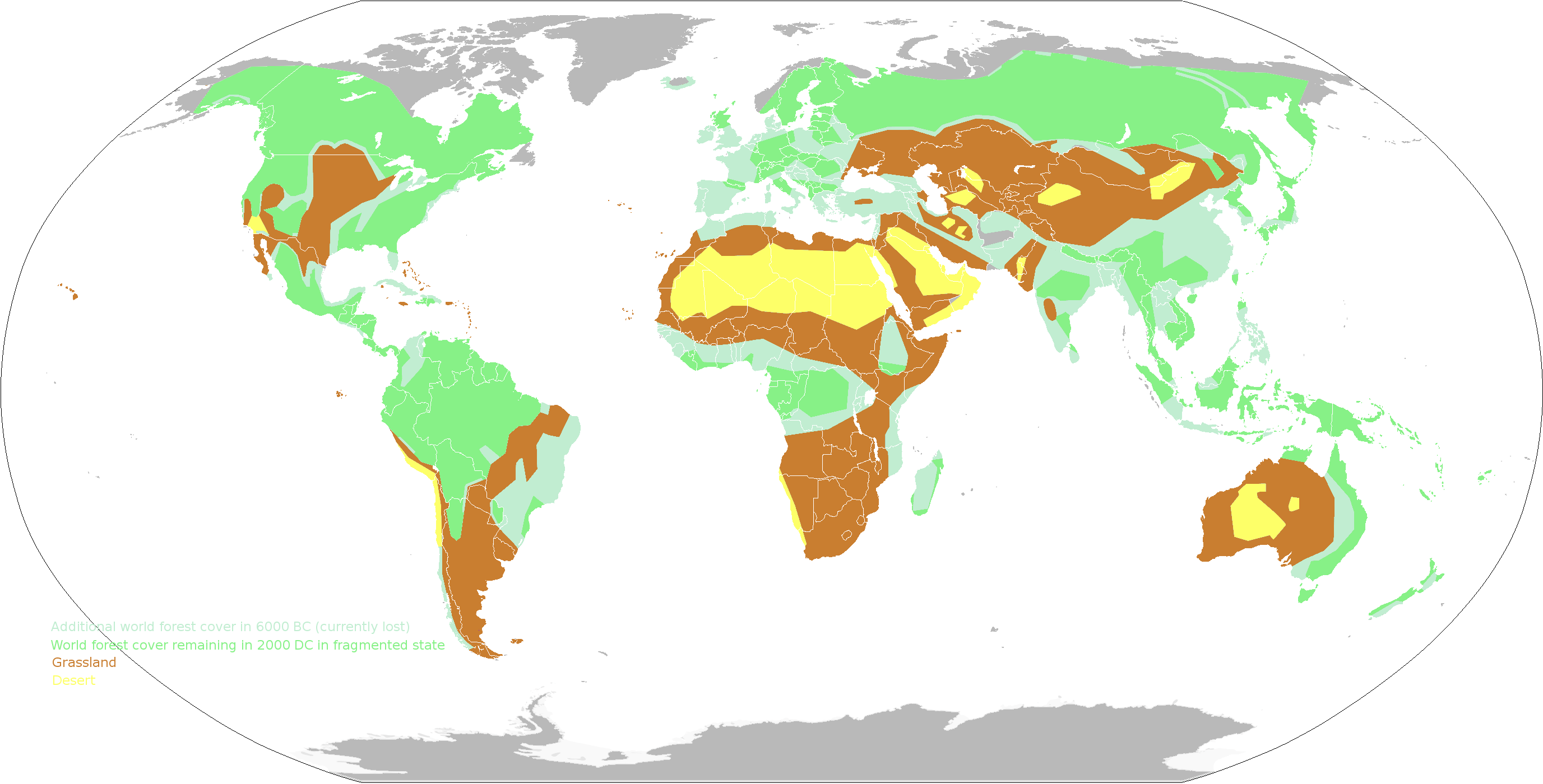 World Vegetation Zones