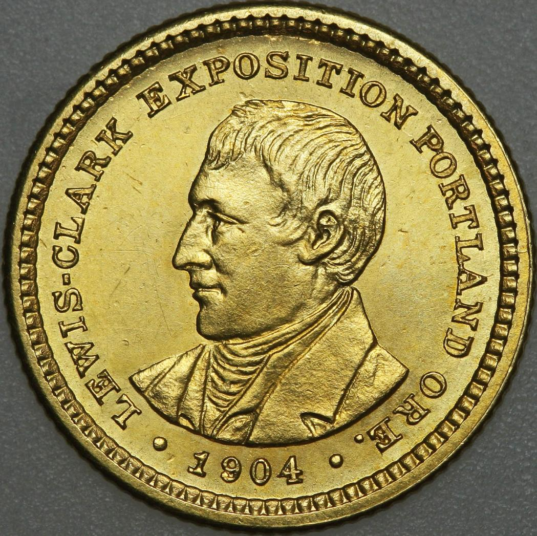 Lewis And Clark Exposition Gold Dollar