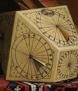 Detail - Polyhedral Sundial - from The Ambassadors - Holbein