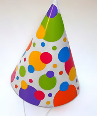 Took picture June 18, 2006 of a party hat I pu...