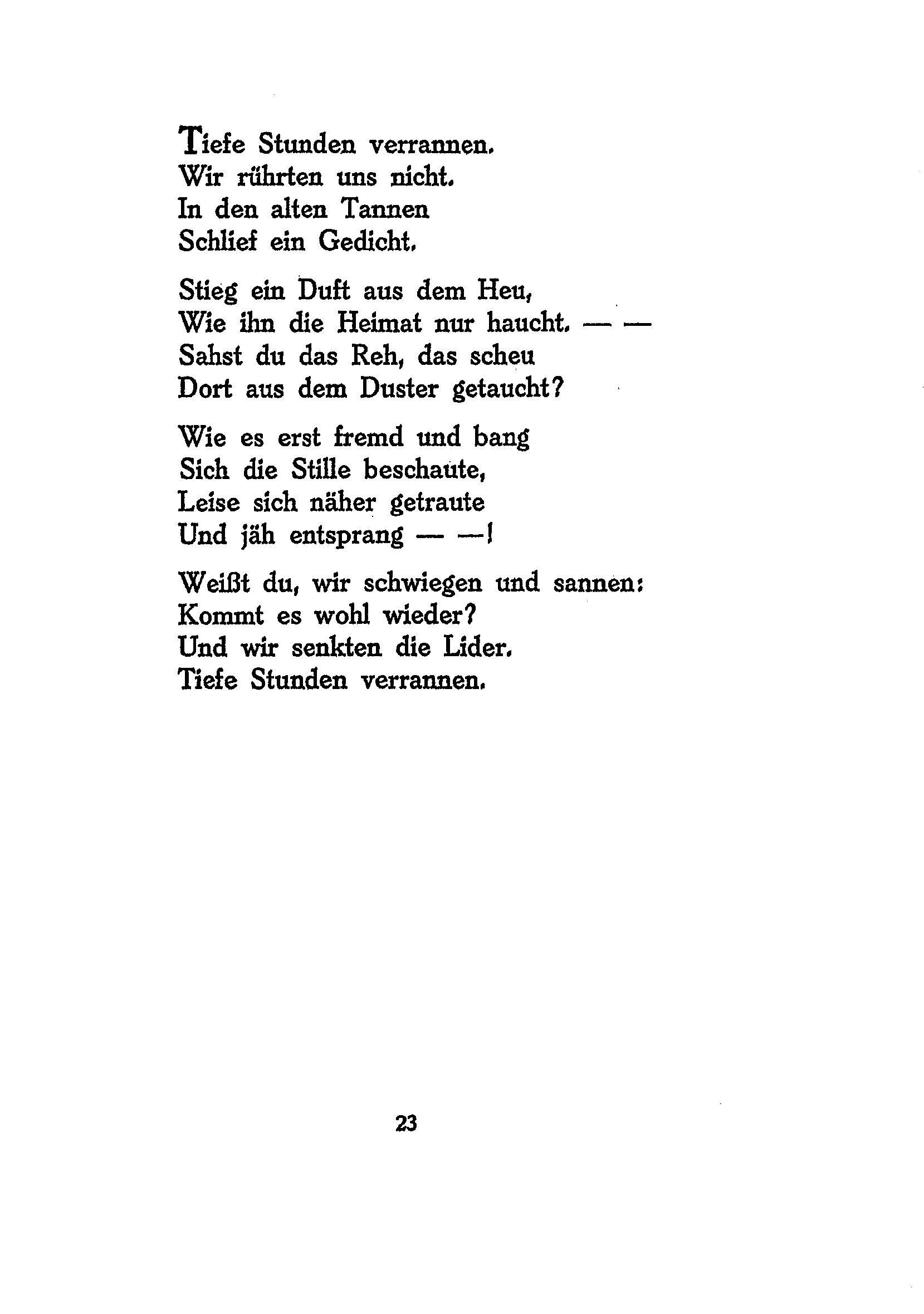 Gedichtinterpretation Zu Dir Von Joachim Ringelnatz Interpretation