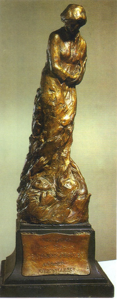 English: Meta Vaux Warrick Fuller, Mary Turner, painted plaster sculpture,1919