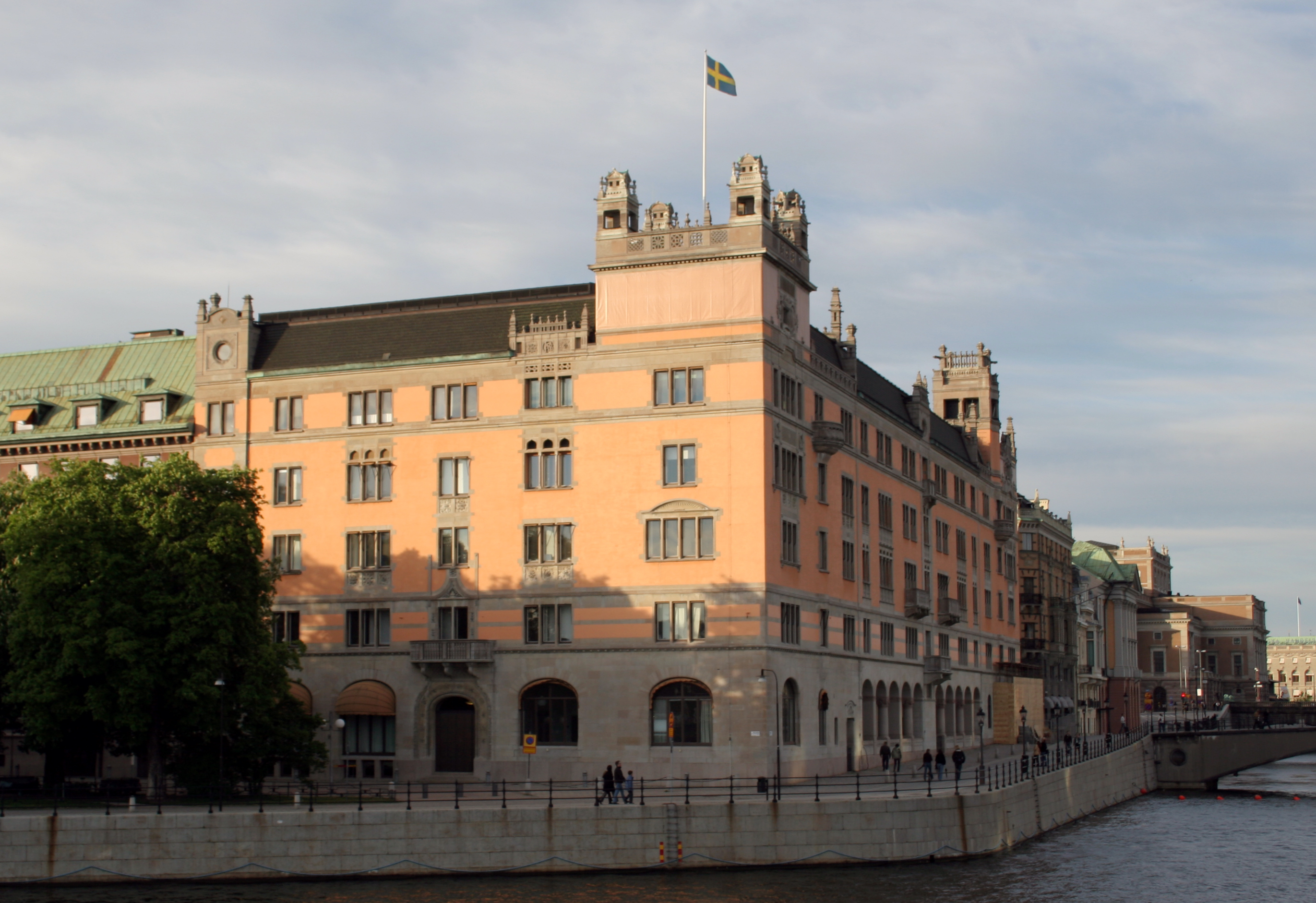 Rosenbad Stockholm Sweden and its racial policy