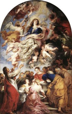 Risultati immagini per Rubens Anversa cattedrale Assunzione