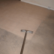 English: Carpet Cleaning Before and After Image