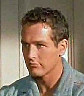 English: Screenshot of Paul Newman from the tr...