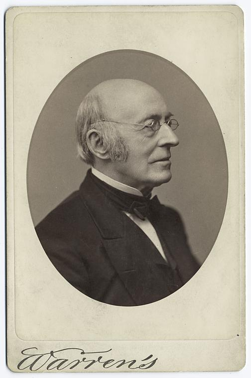 Photo of William Lloyd Garrison