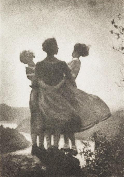 Three country girls