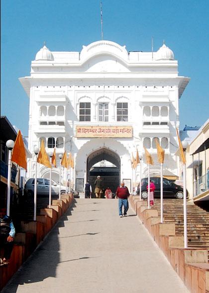 Digamber Jain Mandir Hastinapur Wikipedia
