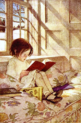 Illustration by Jessie Willcox Smith.