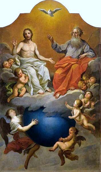 تثلیث کی تصویر کشی ۔ عیسائیت