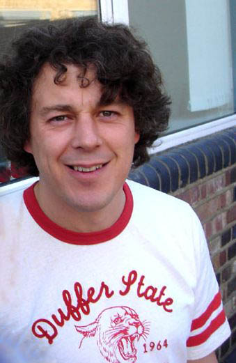 Alan Davies, star of Jonathan Creek. Cropped f...