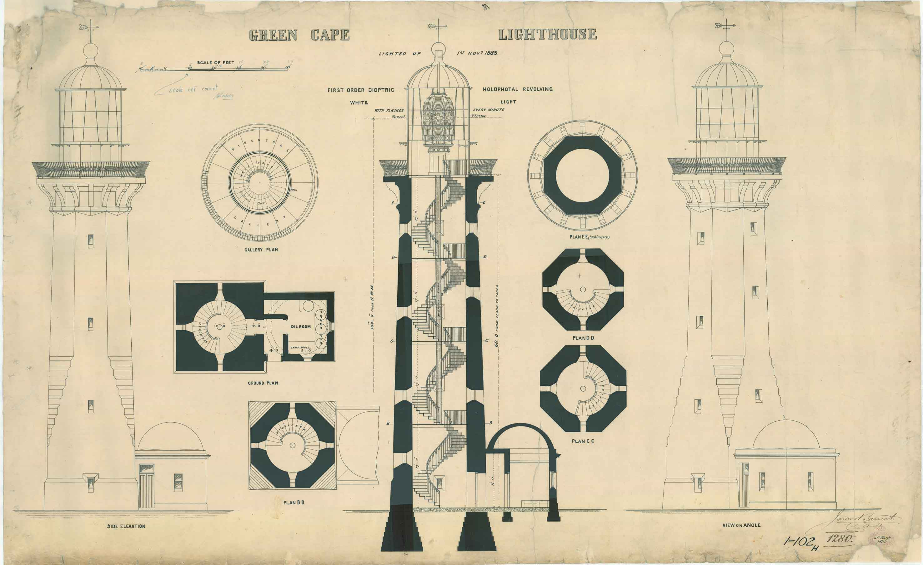 lighthouse plans - Amish Lighthouse Plans