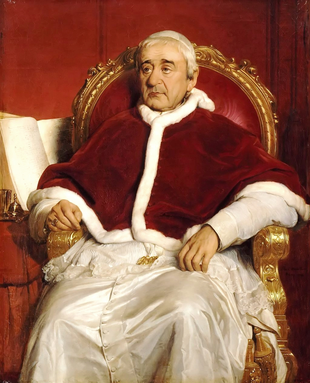 Pope Gregory XVI made gambling on papal electi...