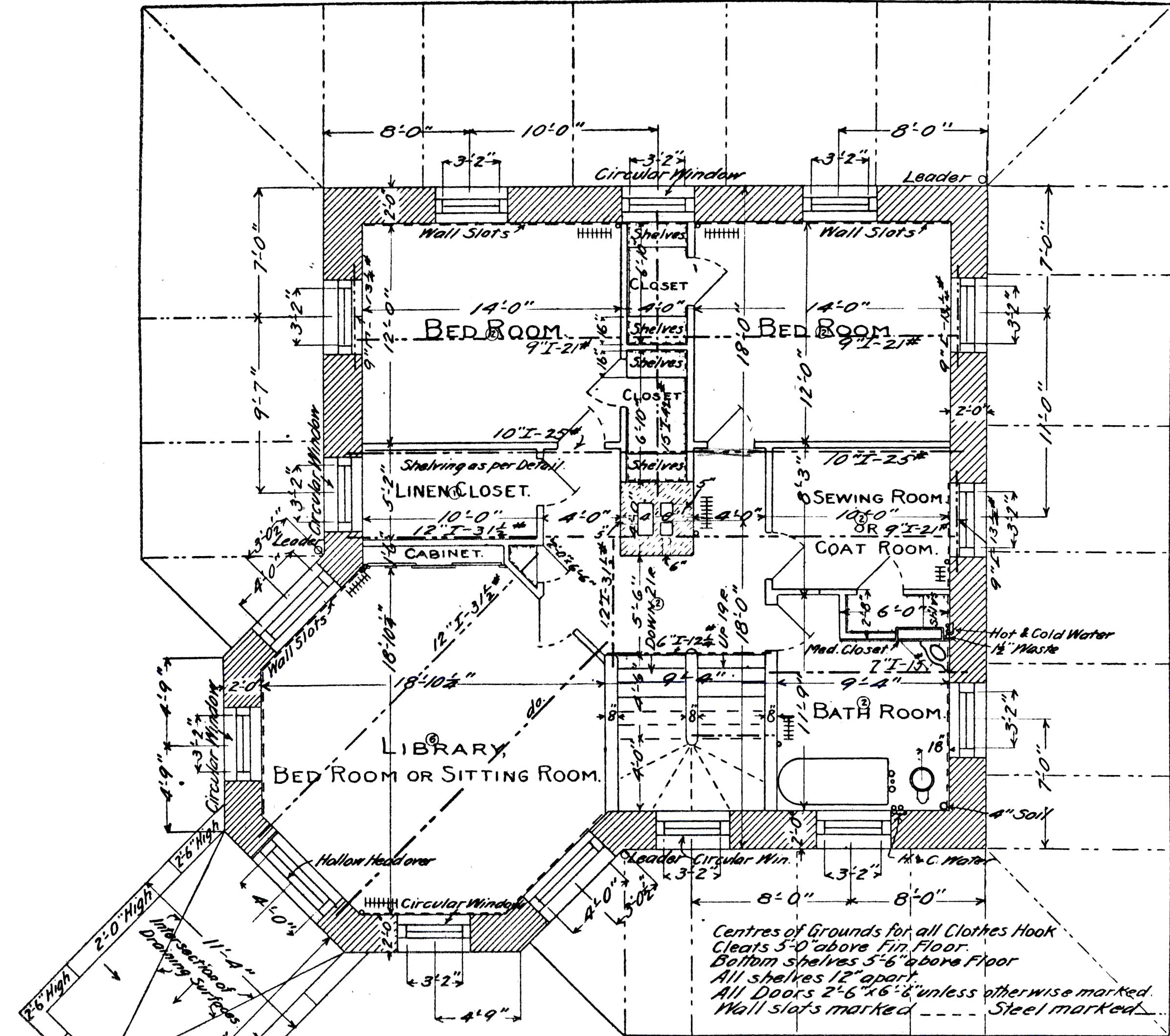 File Himmelwright Stone House 2nd Floor Plan