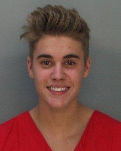Justin Bieber's prison photo